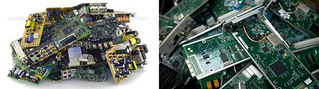SHREDDING and SORTING of Electronic waste